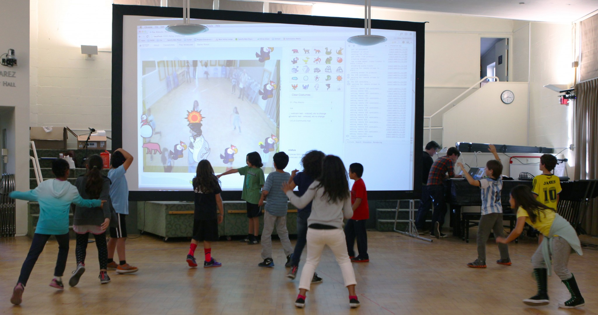 Prototype Deployment – UCLA Lab School – OpenPTrack