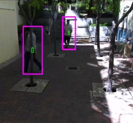 Zed Camera, CNN-based People Detection