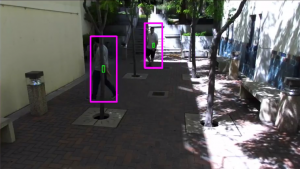 Zed Camera, CNN-based People Detection